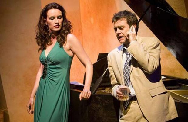 Dolya Gavanski and Paul Higgins in Damascus. Photo: Murdo MacLeod