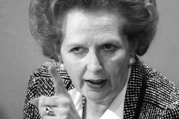 Margaret Thatcher in 1987. Photo: Roy Letkey