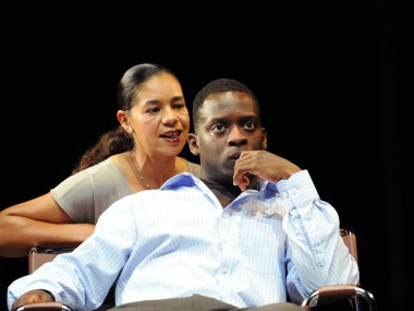 Jaye Griffiths and Kobna Holdbrook-Smith in Seize the Day