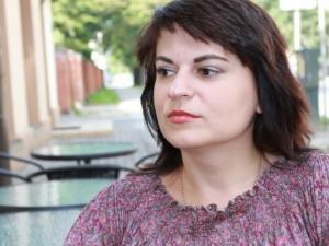 Jailed journalist Natalia Radzina