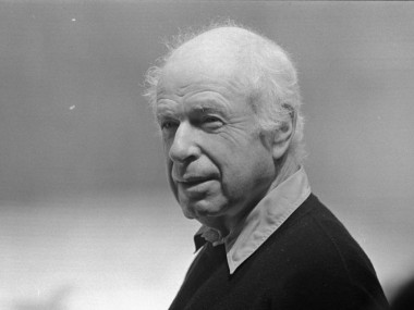 Legendary director Peter Brook