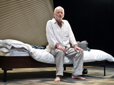 Ian McDiarmid in The Faith Machine. Photo: Stephen Cummiskey