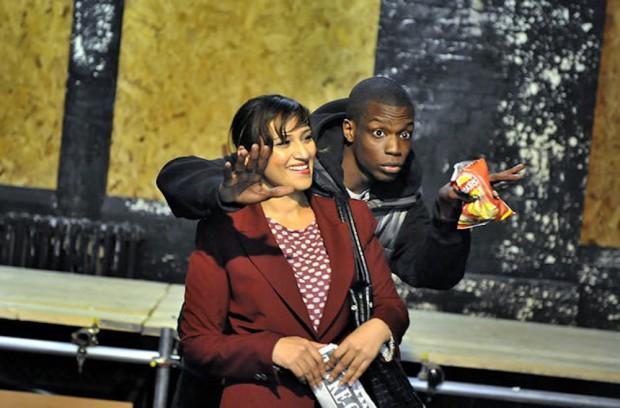 Chetna Pandya and Ryan Calais Cameron in The Westbridge