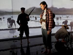 Katie Leung in Wild Swans. Photo: Pete Jones