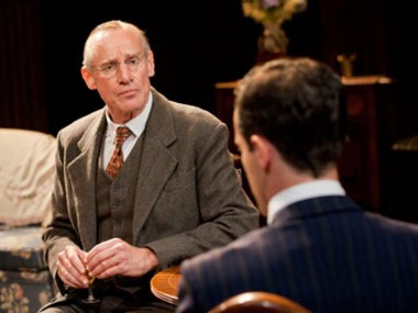 Nicholas Farrell in The Browning Version. Photo: Johan Persson