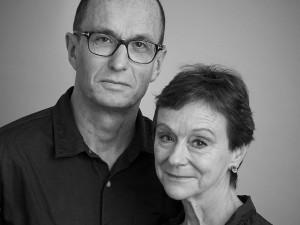 Novelists Sean French and Nicci Gerrard (Nicci French)