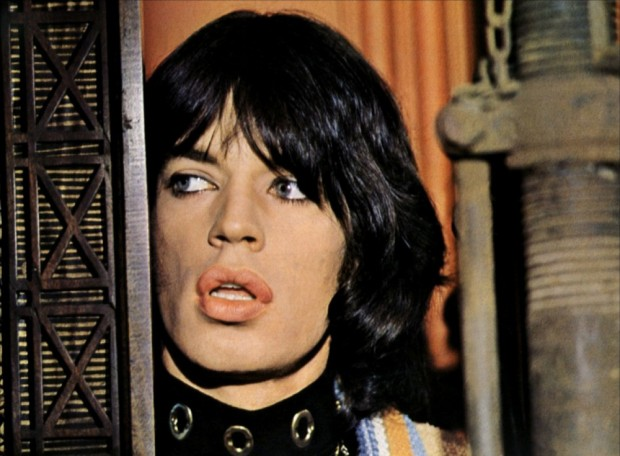 Mick Jagger in Performance