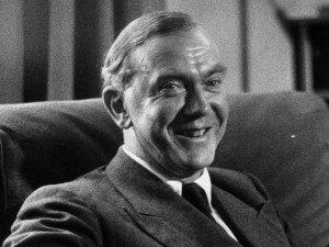 Novelist Graham Greene
