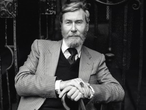 Playwright John Osborne