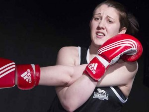 Charlotte Josephine in Bitch Boxer. Photo: Tristram Kenton