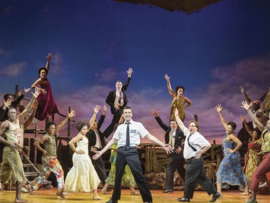 The Book of Mormon. Photo: Johan Persson