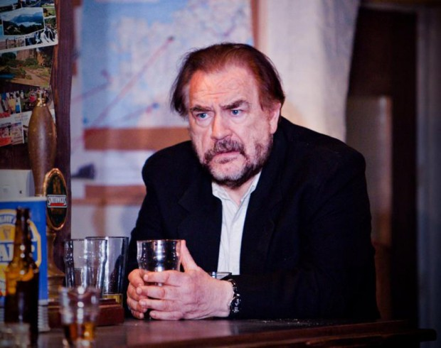 Brian Cox in The Weir. Photo: Helen Warner