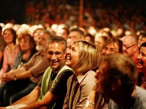 One happy audience