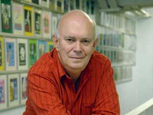 Playwright Alan Ayckbourn
