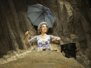 Juliet Stevenson in Happy Days. Photo: Johan Persson