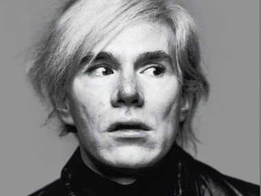 Artist Andy Warhol. Photo: Richard Avedon