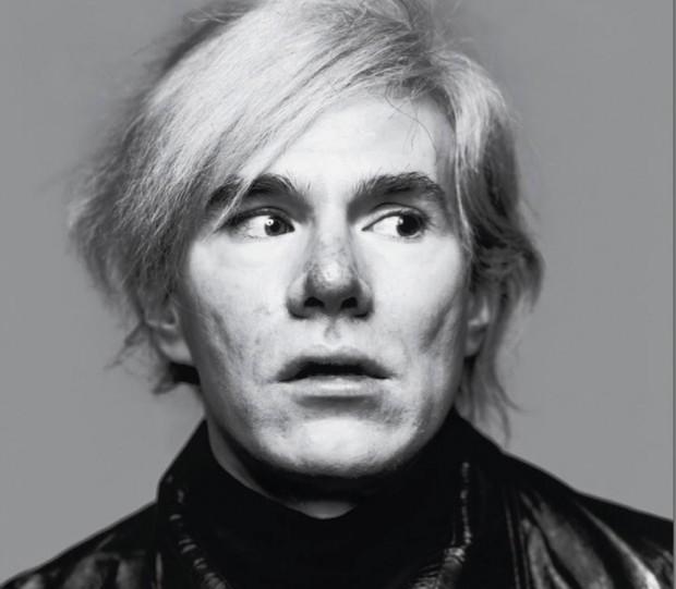 Artist Andy Warhol. Photo: Richard Avedon