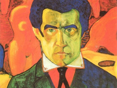 Self-portrait by Kazimir Malevich (1910)