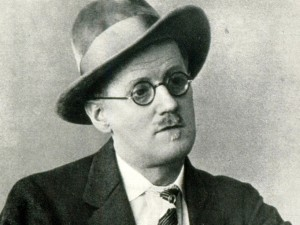 Novelist James Joyce