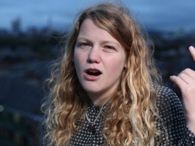 Poet and rapper Kate Tempest