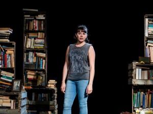 Rosie Wyatt in Spine. Photo: Richard Davenport