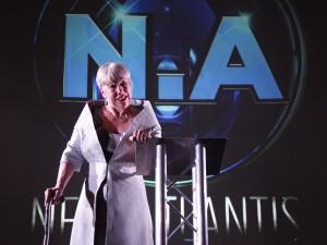 Tricia Kelly in New Atlantis. Photo: Andy Franzkowiak