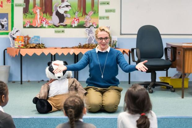 Amanda Abbington in God Bless the Child. Photo: Manuel Harlan