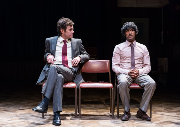 Paul Higgins and Rudi Dharmalingam in Hope. Photo: Manuel Harlan