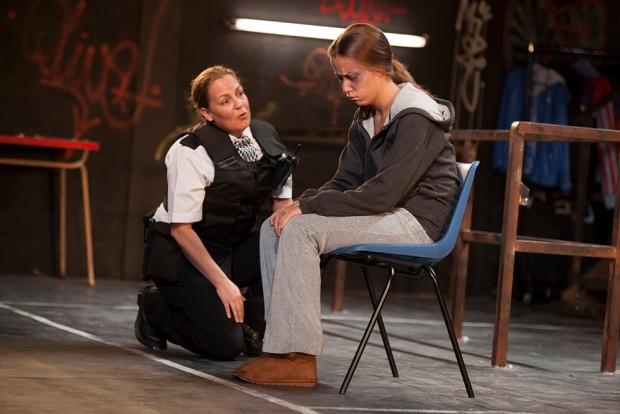 Lorraine Stanley and Tara Hodge in Wildefire. Photo: Ellie Kurttz