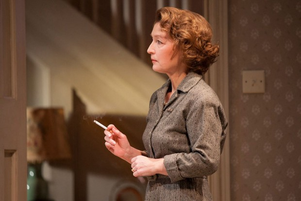 Lesley Manville in Grief. Photo: Charlotte MacMillan