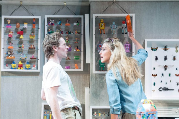 Shaun Evans and Miranda Raison in Hello/Goodbye. Photo: Manuel Harlan
