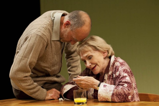 Sam Cox and Siân Phillips in Lovesong. Photo: Johan Persson