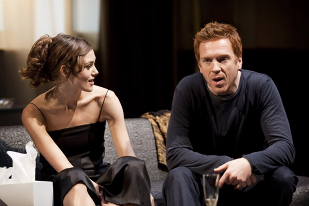 Keira Knightley and Damian Lewis in The Misanthrope. Photo: Johan Persson