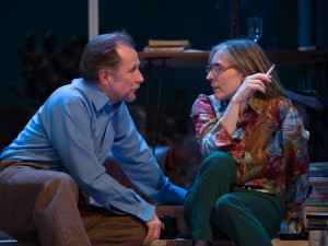 Danny Webb and Saskia Reeves in The Mistress Contract. Photo: Manuel Harlan