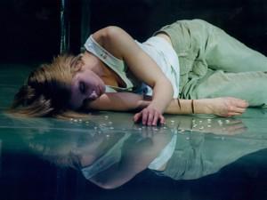 Magdalena Cielecka in 4.48 Psychosis. Photo: Stefan Okołowicz