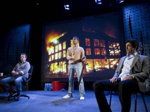 The Riots. Photo: Tristram Kenton
