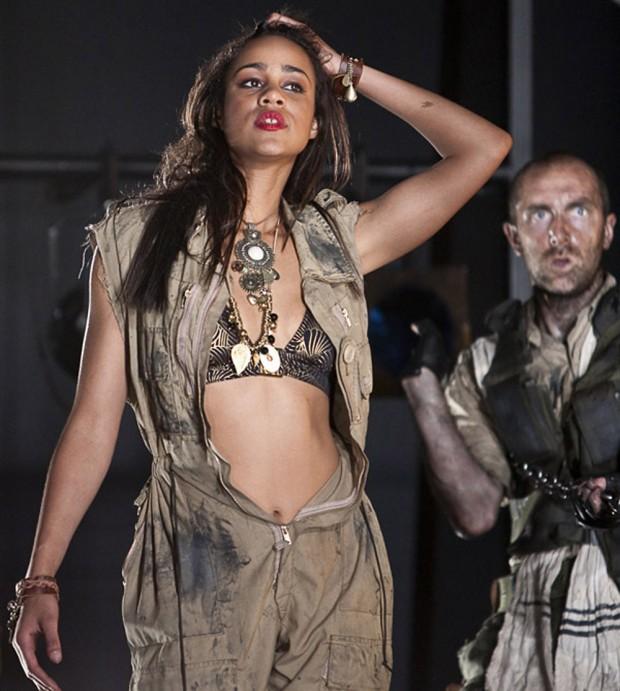 Zawe Ashton in Salome. Photo: Helen Warner