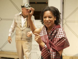 Nina Sosanya in Where's My Seat? Photo: Manuel Harlan