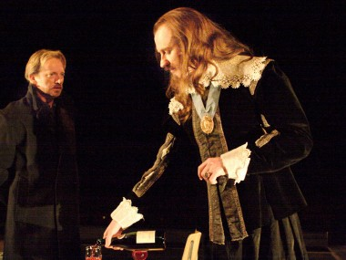 Douglas Henshall and Mark Gatiss in 55 Days. Photo: Catherine Ashmore
