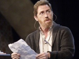 Rob Brydon in A Chorus of Disapproval. Photo: Catherine Ashmore