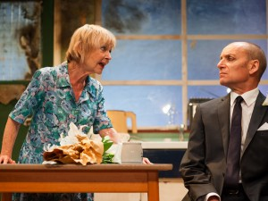 Sheila Reid and Michael Feast in Ghost from a Perfect Place. Photo: Ben Broomfield