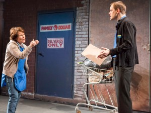 Imelda Staunton and Matthew Barker in Good People. Photo: Johan Persson