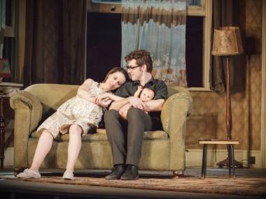 Kate O'Flynn and Harry Hepple in A Taste of Honey. Photo: Marc Brenner