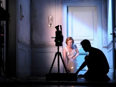 Luise Wulfram in Fräulein Julie. Photo: Thomas Aurin