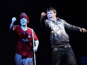 Mike Noble and Scott Hazell in Mudlarks. Photo: Nobby Clark