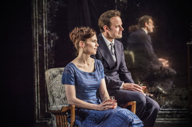 Hayley Atwell and Harry Hadden-Paton in The Pride. Photo: Marc Brenner