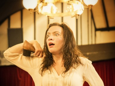 Melody Grove in The Strange Undoing of Prudencia Hart. Photo: Johan Persson