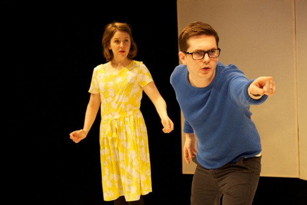 Gemma Whelan and Sean Michael Verey in Radiant Vermin. Photo: Anna Soderblom