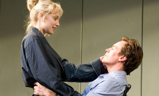 Hattie Morahan and Toby Stephens in The Real Thing. Photo: Geraint Lewis