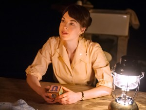 Jessica Raine in Roots. Photo: Stephen Cummiskey